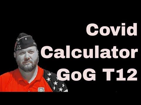 Guns of Glory T12 Calculator AKA the Covid Calculator
